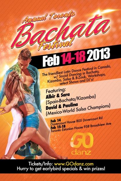 Toronto Bachata Festival February 2013